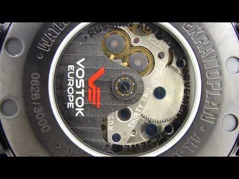 Vostok Ekranoplan Caspian Sea Monster Russian Watch 2432.01/5454108
