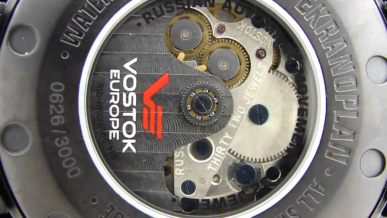Vostok Ekranoplan Caspian Sea Monster Russian Watch 2432.01 5454108 -  YouTube caeb3337c1a