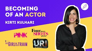 Becoming of an Actor | Kirti Kulhari Interview | Diorama IFF
