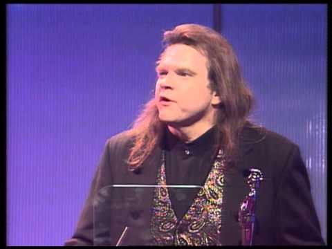 Meatloaf wins Best Selling Single presented by Elton John   BRIT Awards 1994 Mp3