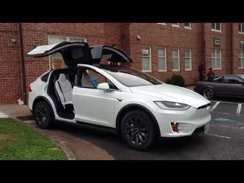 Tesla Model X Dancing By Drivin Ivan Youtube