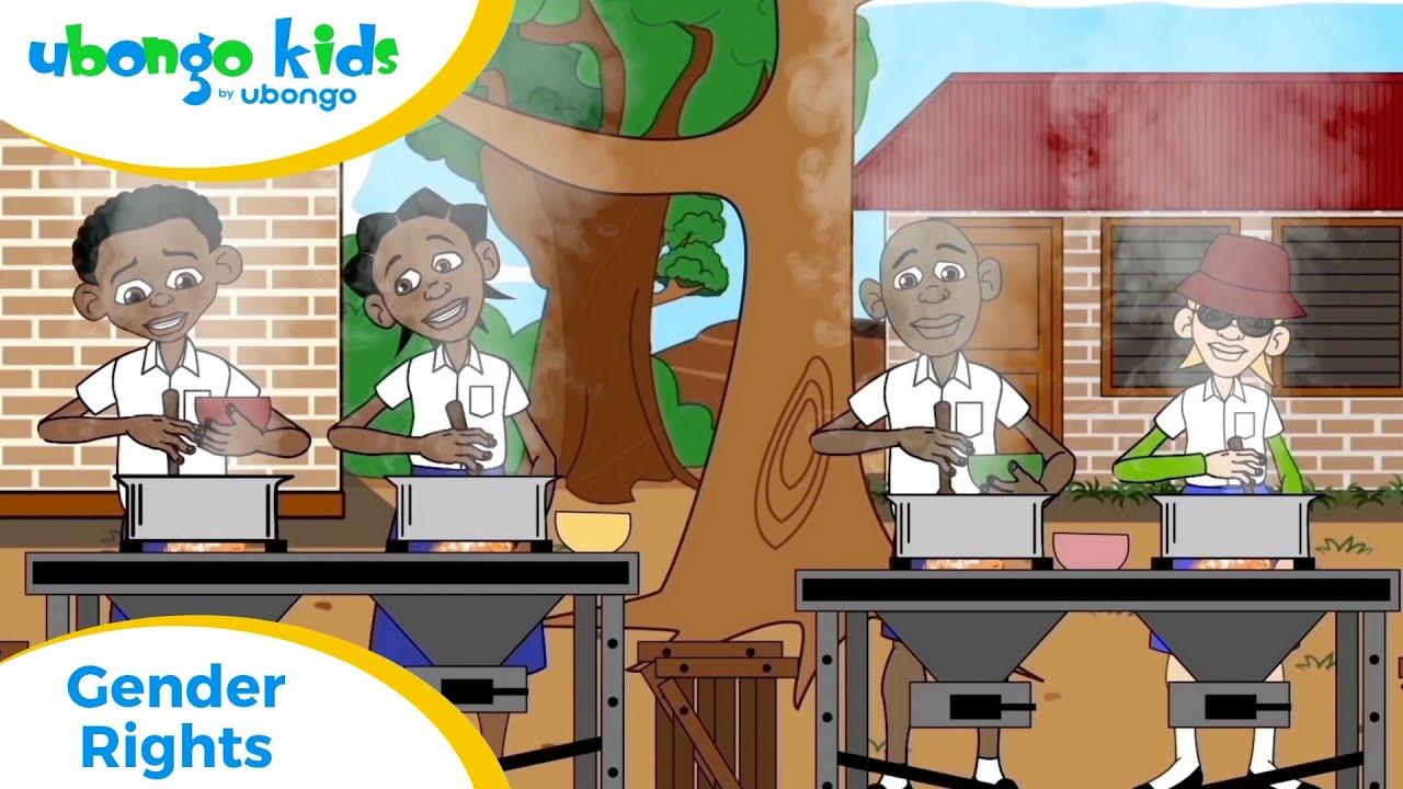 Full Episode: Gender Rights | Ubongo Kids + European Union | African Edutainment