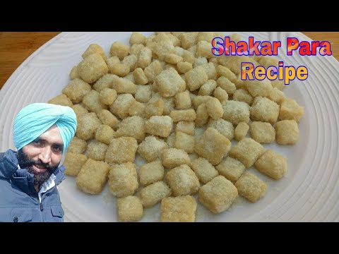 Shakar Para Recipe very easy Shakarpara recipe Sweet Shakarpare Shankarpali Sugar Coated jaan mahal