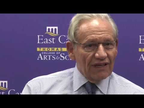 Bob Woodward Comes to ECU