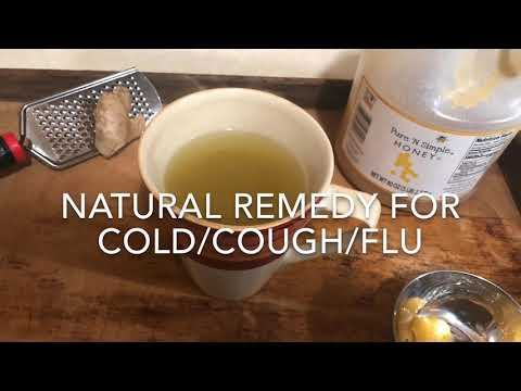 Easy All-Natural Common Cold/Flu Remedy