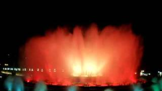 Музыкальные фонтаны в Барселоне - 1