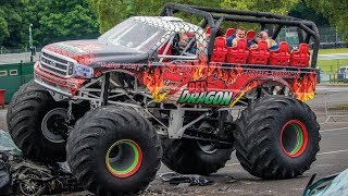 Red Dragon Monster Truck