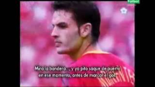 Análisis del Korea vs España 2002 y la furia de Iván Helguera