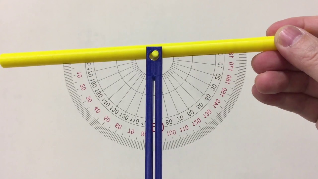 3D printed Clinometer