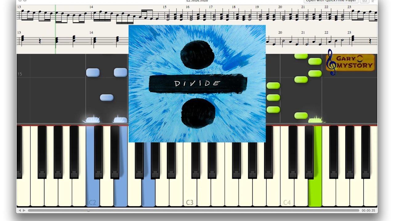Ed sheeran nancy mulligan divide easy piano tutorialkeyboard ed sheeran nancy mulligan divide easy piano tutorialkeyboard lesson sheet music new song 2017 hexwebz Images
