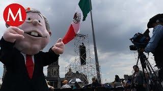 Todo listo para celebración de AMLO en el Zócalo