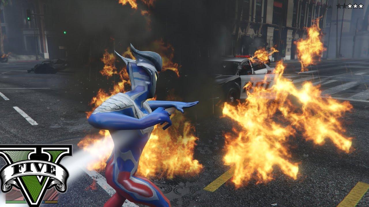 Ultraman Zero Phá Hủy Thành Phố Sẽ NTN
