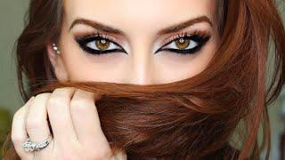 Reverse Cat Eye Makeup