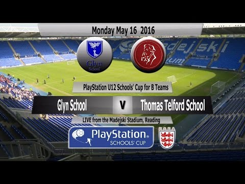 Full Match   PlayStation U12 B Team Cup 2016   Glyn School v Thomas Telford School