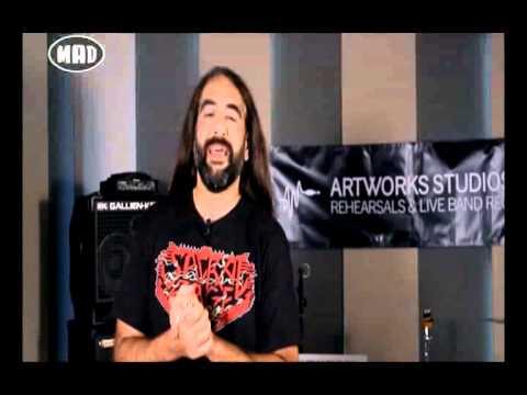 Slayer, Powerwolf & live από τους Mother Of Millions (TV War 13/7/15).