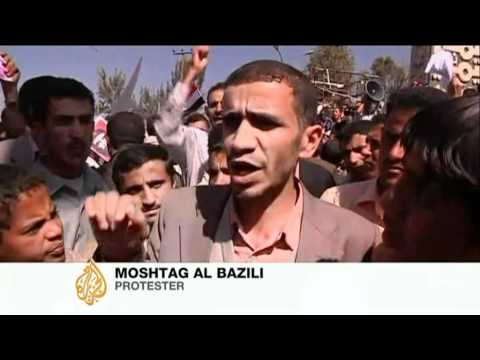Protests in Yemen continue