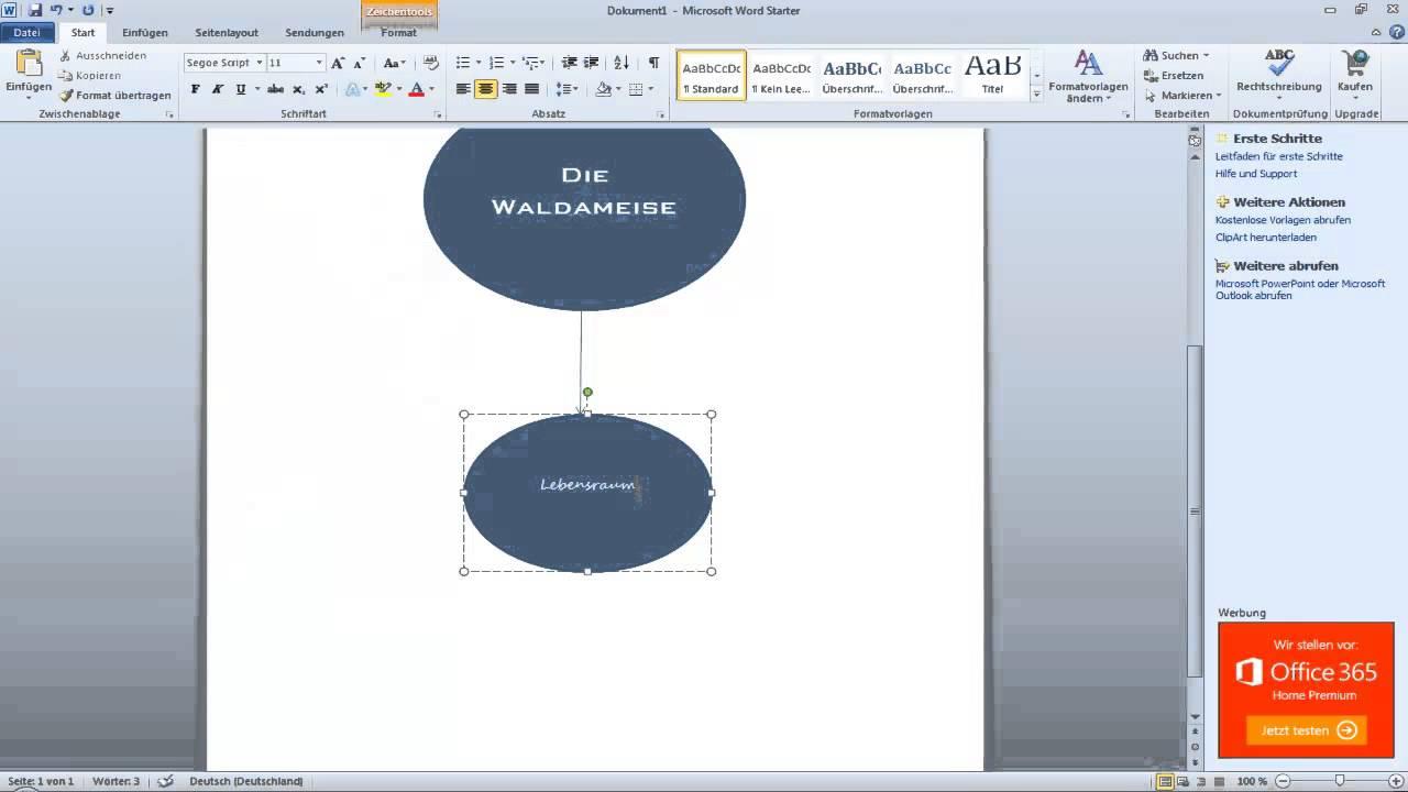 Mindmap In Microsoft Word Erstellen So Einfach 5