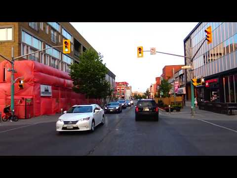 A Drive through Kitchener/Waterloo from top to Bottom