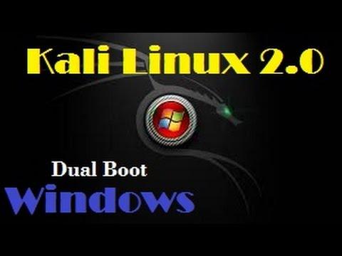 Instalação do Kali Linux 2.0 em DUAL BOOT