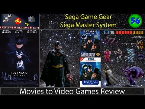 Movies to Video Games Review -- Batman Returns (Sega Game Gear & Sega Master System)