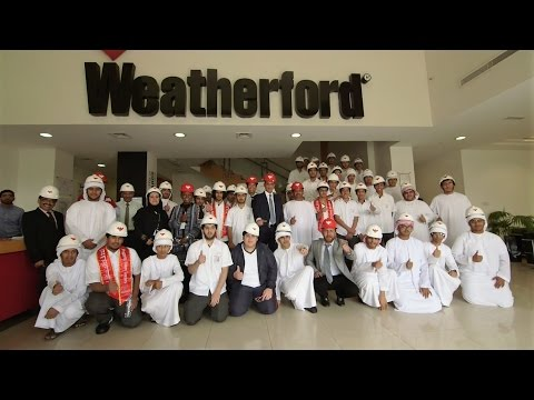 Young ADIPEC -2016 Visit to Weatherford Abu Dhabi Manufacturing Facility