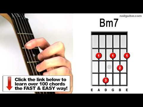 Bm7 Guitar Chord @ worshipchords