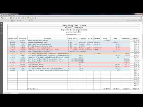 How to Read Your Account Statement