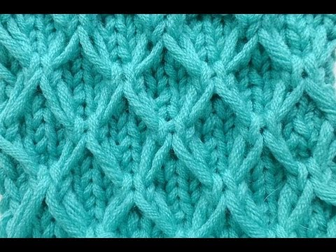 Knit With Elizzza Mesh Pattern With Slip Stitches Knitting