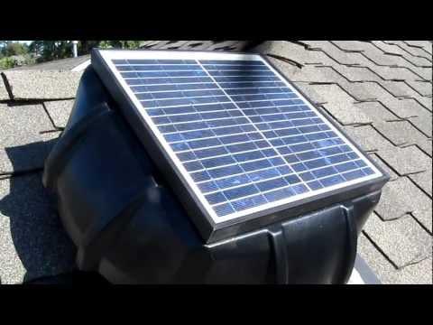 """Solar Vent """"Fan Attic"""" 15 Watt in Seattle, Washington"""