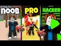 NOOB vs PRO vs HACKER | Mining Simulator Version *FUNNY* (Roblox)