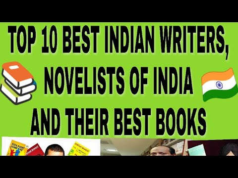 Top 10 Best Indian writers/Novelists and their best books