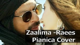 Download Hindi Video Songs - Zaalima | Shahrukh khan| Raees| Arijit Singh | Pianica Instrumental Cover