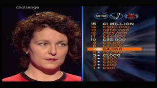 Who Wants To Be A Millionaire? Uk - 6th January, 2002