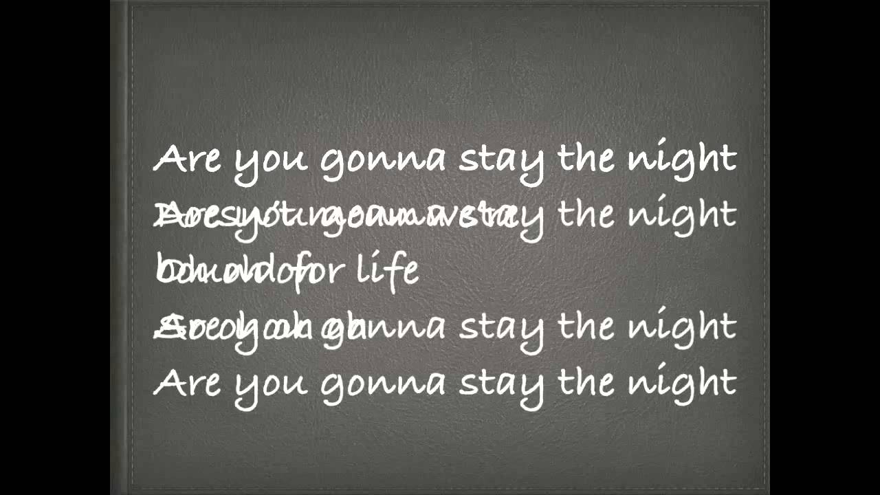 stay the night zedd lyrics youtube