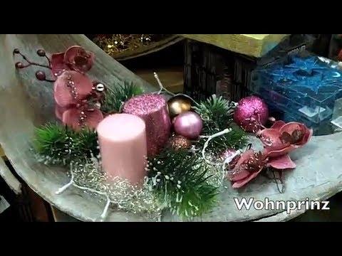 weihnachts deko inspirationen spontan shopping youtube. Black Bedroom Furniture Sets. Home Design Ideas