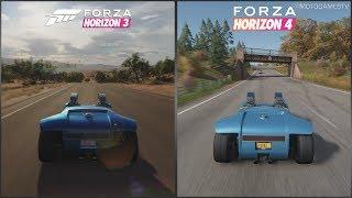 Forza Horizon 3 vs Forza Horizon 4 - Hot Wheels Twin Mill Sound Comparison