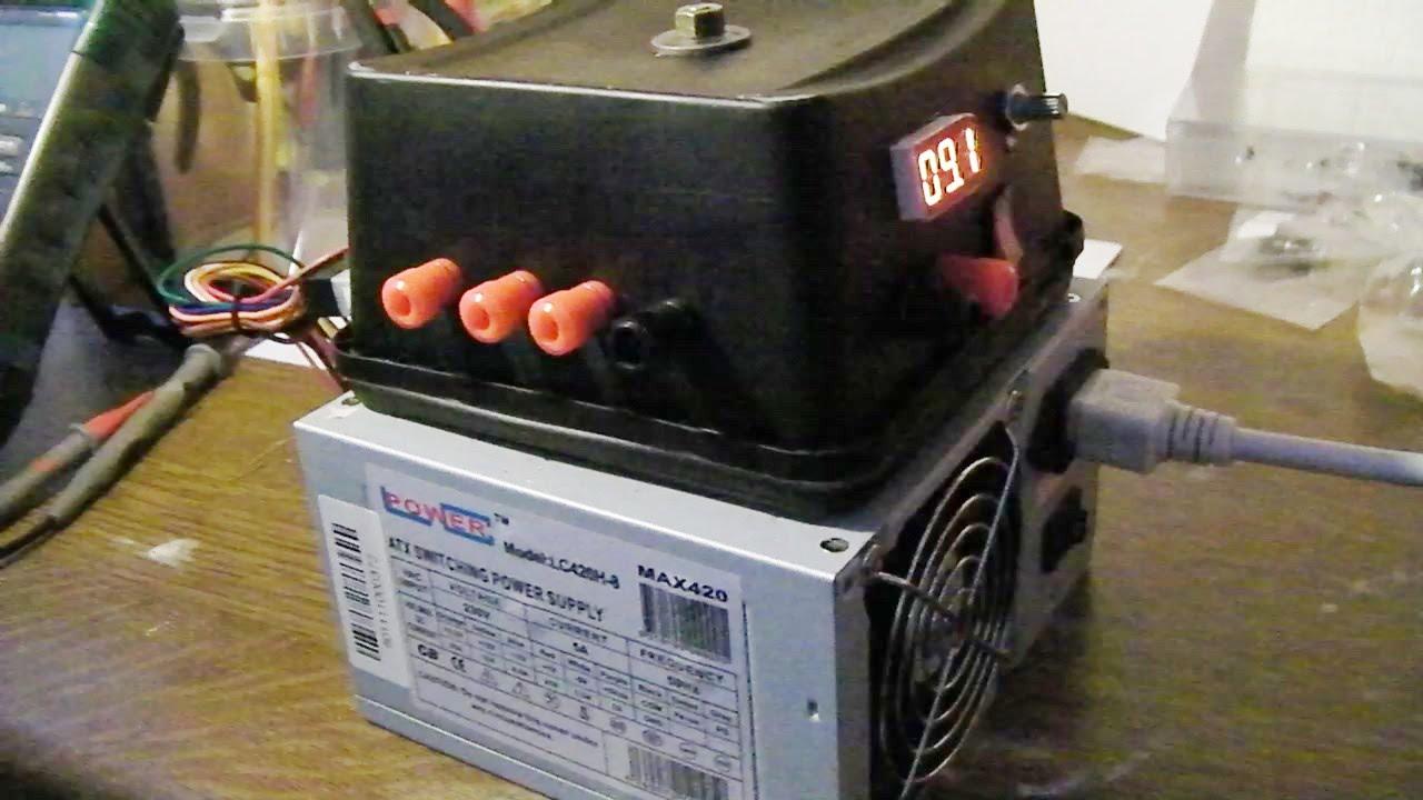Diy Variable Bench Power Supply Doovi