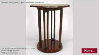 Bentwood Antique End Table Secessionist Tables For Sale