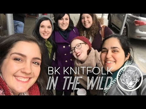 Vogue Knitting Live 2017: BK KNITFOLK IN THE WILD