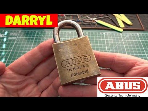 Взлом отмычками ABUS   (1154) Darryl