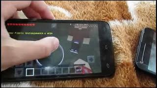 как играть по сети с друзьями в майнкрафт на телефонах это работает !!! =0