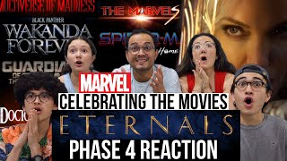 Eternals Teaser Trailer | MARVEL STUDIOS CELEBRATES THE MOVIES REACTION! | MaJeliv | Phase 4 & MORE!
