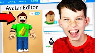 MAKING MY LITTLE BROTHER A ROBLOX ACCOUNT!