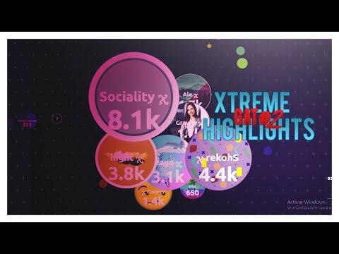 Agar.io | Girls #1 Highlights | Xtreme✗ thumbnail