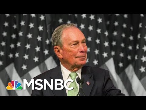 Reporter To Billionaire Dem Bloomberg: Are You Trying To Buy The Presidency? | The 11th Hour | MSNBC