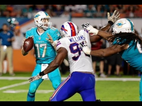 Miami Dolphins predicting Mario Williams 2016 season!!!!!!!