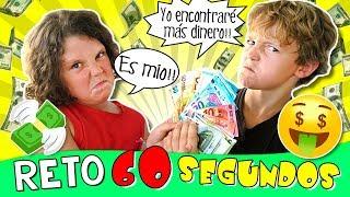 🤑 60 SEGUNDOS para encontrar 100€ en nuestra NUEVA casa 🏠 Retos de niños thumbnail