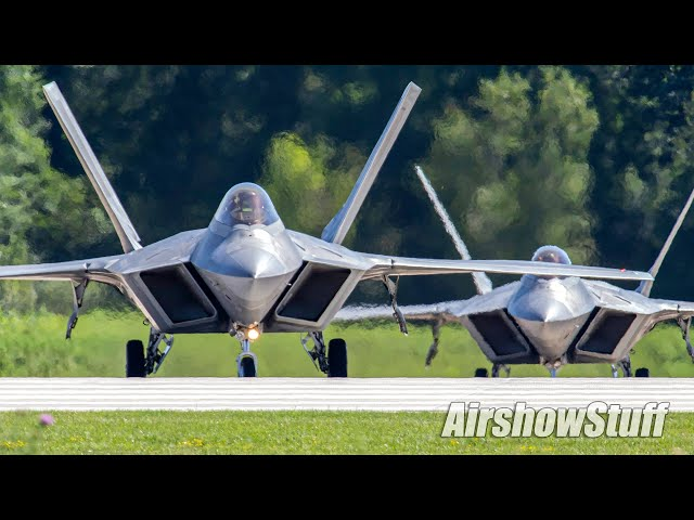 Military Jet Takeoffs - Northern Lightning 2020 Spotting (Part 2!)