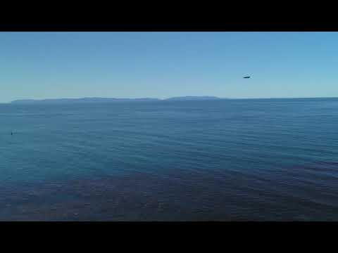 Amazing drone video from the Sunken City in San Pedro, California