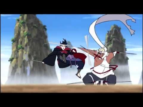 【AMV】Naruto   Sasuke Vs Killer Bee